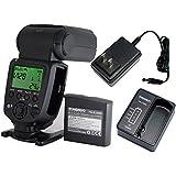 YONGNUO YN860Li-KIT Lithum Battery Wireless Flash Speedlite GN60 2.4G Wireless Radio Master+ Slave for Canon Nikon Pentax Olympus.