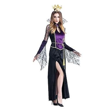 TIFIY Heißer Halloween Party Cosplay Lange Kleid Horror Puppe Kostüm ...