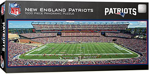 MasterPieces NFL New England Patriots 1000 Piece Stadium Panoramic Jigsaw Puzzle