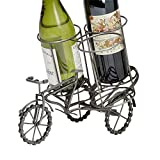Ten Thousand Villages Antiqued Silver Tricycle Recycled Bike Chain and Metal Bottle Holder 'Bicycle Wine Holder' Review