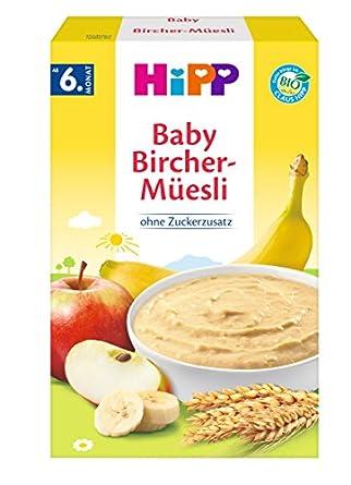 Hipp Bio Getreide Brei Guten Morgen Brei Bircher Müesli 6er Pack 6 X 250g
