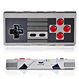 BPSMedia® Wireless Bluetooth Classic Wireless Pro Game Controller remote for iOS and Android Gamepad - PC - Windows - Mac - Linux - Square - Perfect to Play Classic Retro Games 8Bitdo (RTNS30)