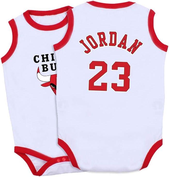 GHQ-Newborn Camisetas NBA Niños Los Toros de Chicago No.23 Michael ...