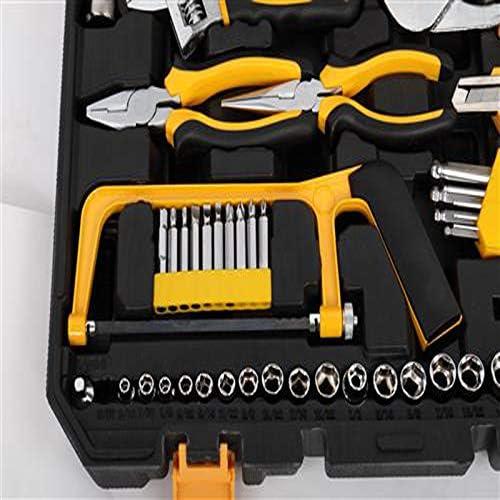 OOFAY LIGHT 198Pcs Hand Tool Set DIY Home Repair Tool Kit Car Repair Tool Set Wrench Saw Screwdriver Kits