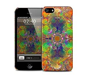 paint colours kaleidoscope pattern iPhone 5 / 5S protective case