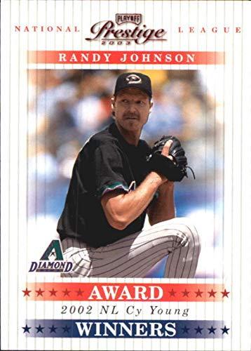 2003 Playoff Prestige Award Winners #3 Randy Johnson CY /2002 - NM