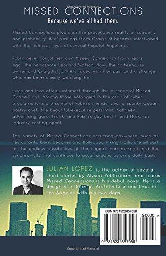 Missed Connections: Julian Lopez: 9781523657056: Amazon com