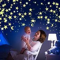 Paquete de 300 Estrellas Brillantes Y Luna| Estrellas