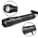 Larnn Tactical Flashlight, Defiant Led Flashlight 5 Light Modes Zoomable & Weather Resistant Flashlights