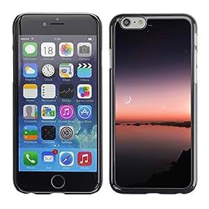 Suaves rayos calmantes - Metal de aluminio y de plástico duro Caja del teléfono - Negro - Apple (4.7 inches!!!) iPhone 6 / 6S