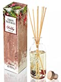 Urban Naturals Winter Mint Peppermint Essential Oil Reed Diffuser Sticks Set by Peppermint Leaf, Spearmint & Eucalyptus Essential Oils | Great Year Round Scent!