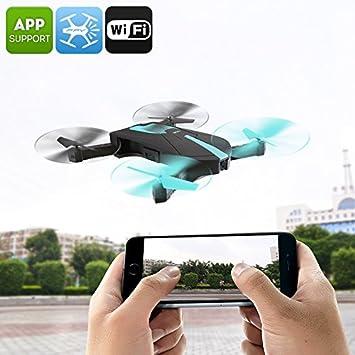 JYO18 Drone Foldable Camera 6 Axis Gyro FPV 30M Range Smartphone Control APP: Amazon.es: Electrónica