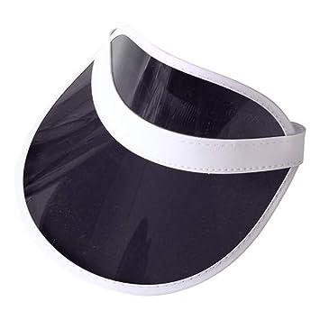 CGXBZA Sombrero De Plástico De PVC Sombrilla Sombrero Visor Gorras ...