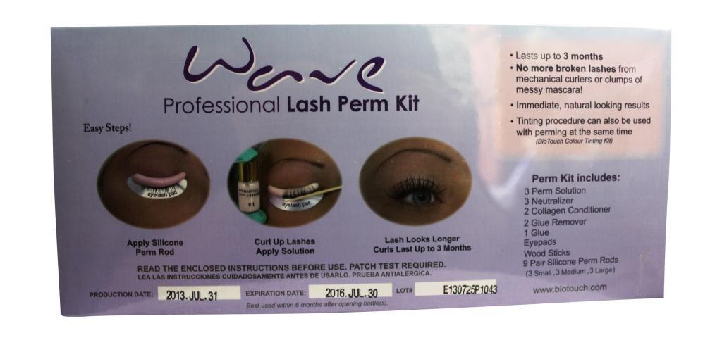 2baa5c8da5e Amazon.com : Wave Lash Perm Kit : Beauty