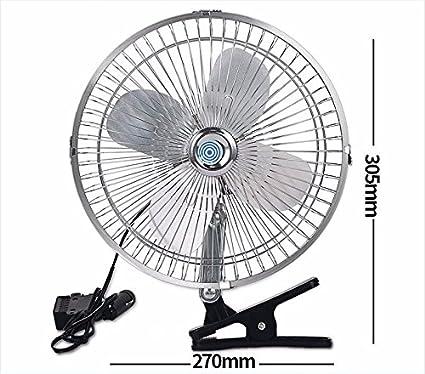 JISHUQICHEFUWU Ventilador del coche/12v/24v/coche con el ventilador grande del ventilador/del carro grande/ventilador de techo grande de la energía eólica, N, 24V: Amazon.es: Coche y moto