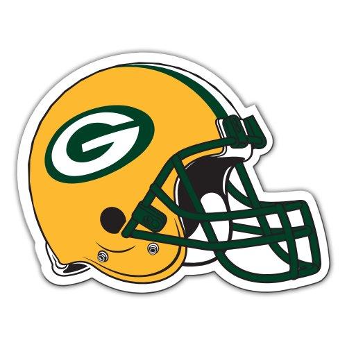 Fremont Die NFL Green Bay Packers 12-Inch Vinyl Helmet - Magnet Cheese