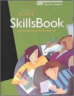 Amazon write source skills book editing and proofreading write source skills book editing and proofreading practice fandeluxe Gallery