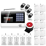 KERUI N6120G Wireless GSM Home security Alarm System + 10PCS Wireless Door sensor + 5PCS Wireless PIR Motion Infrared Detector