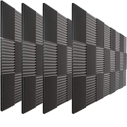 Sound Deadening Panels - 96 Pack Acoustic Panels Studio Foam Wedges 1
