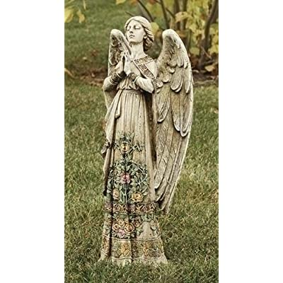 "Roman 24"" Joseph's Studio Praying Angel Religious Outdoor Garden Statue : Garden & Outdoor"