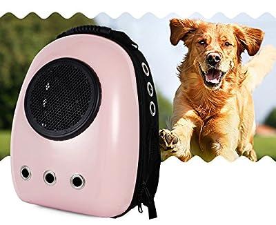 Lemonda Portable Travel Pet Carrier Backpack,Space Capsule Bubble Design,Waterproof Handbag Backpack for Cat and Small Dog Mutil Colors to Choose from Lemonda