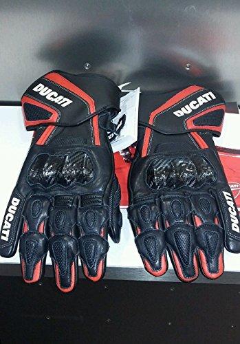 Ducati 981025805 Performance Leather Gloves - Black - Large