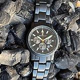 Smith & Wesson Men's Pilot Watch, 3ATM, Black Multi