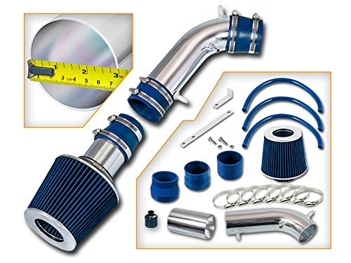 Filter Combo BLUE For 96-98 Toyota 4Runner 3.4L Rtunes Racing Short Ram Air Intake Kit 95-98 Toyota T100 Toyota Tacoma 3.4L /…