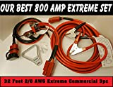 30ft 800 AMP 3pc Extreme Commercial Jump Set