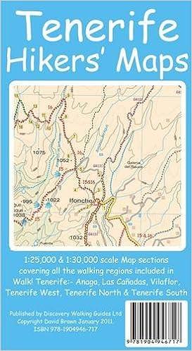 Tenerife Hikers Maps: Amazon.de: David Brawn: Fremdsprachige Bücher