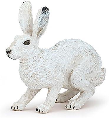 Papo 50226 Lièvre Arctique Figure-Toy Cake Topper etc