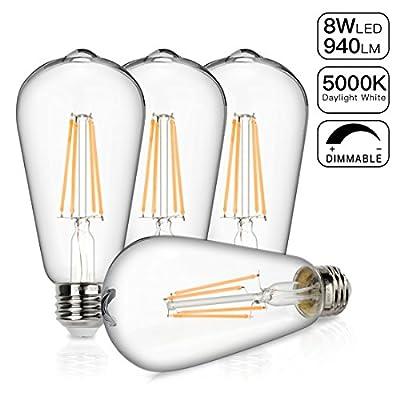 Pendant kit and 5000K bulb