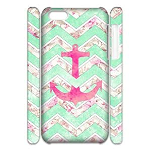 Winfors Anchor Chevron Phone 3D Case For Iphone 5C [Pattern-1]