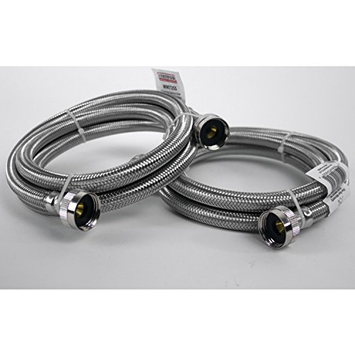 Certified Appliance Accessories Braided Stainless Steel Washing Machine Hoses, 6ft by Certified Appliance Accessories (Image #5)
