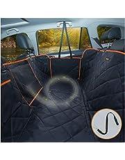 iBuddy Autostoelhoezen voor achterbank 100% waterdicht hond autostoelhoezen voor kinderen, Heavy Duty en non-lip huisdier autostoelhoezen voor auto's SUV/kleine vrachtwagen