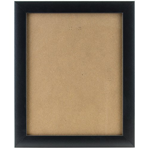 Craig Frames 1WB3BK 19 by 30-Inch Picture/Poster Frame, Smooth Finish, 1-Inch Wide, Matte Black (19 30 Frame X)