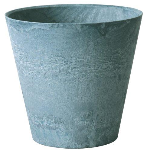(ArtStone Napa Round Planter, Slate, 12-Inch)