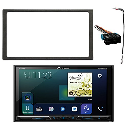 Harness Bluetooth - Pioneer Double Din Multimedia DVD Bluetooth SiriusXM-Ready Receiver w/ 7