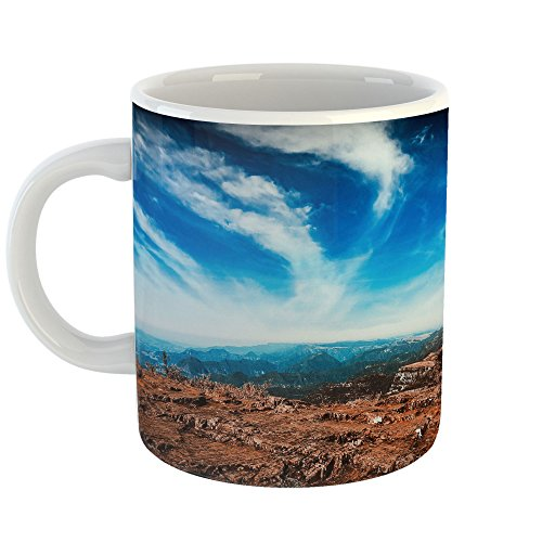 Westlake Art - Cloud Canyon - 11oz Coffee Cup Mug - Modern Picture Photography Artwork Home Office Birthday Gift - 11 Ounce (DF69-993D9)