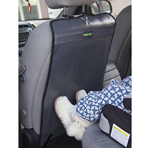 heavy duty kick mats 2 pack best car seat back protector reversible backseat child kick. Black Bedroom Furniture Sets. Home Design Ideas