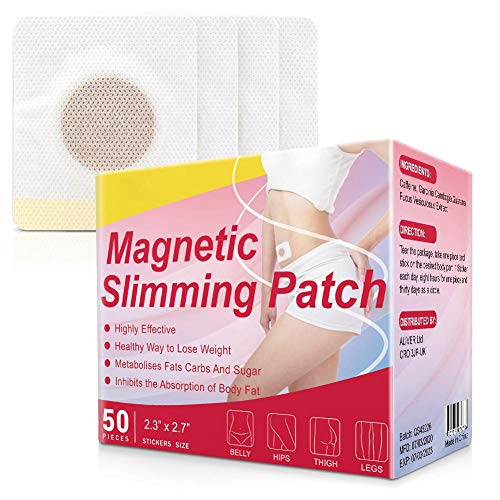 50pcs Weight Loss Sticker, Detox Cleanse Sticker for Belly Slimming Patch Fat Burning Patch Body Shaping Health Care…