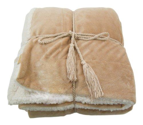 Simplicity Luxury Sherpa Throw Blanket