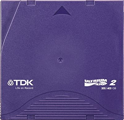 TDK Systems LTO ULTRIUM 2 200/400GB-TAPE CART ( D2405-LTO2AX ) from TDK