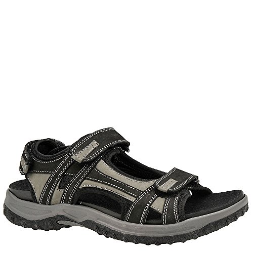 Drew Shoe Men's Warren Gray Casual Sandals 13 (4W)
