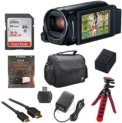 Canon Vixia HF R82 32 GB Wi-Fi 1080P HD Cámara de vídeo ...