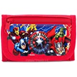 Marvel Avengers Red or Black Trifold Wallet Randomly - 1 WALLET