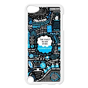 New Fashion Hard Back Cover Case for iPod Touch 5 with New Printed Okay Okay
