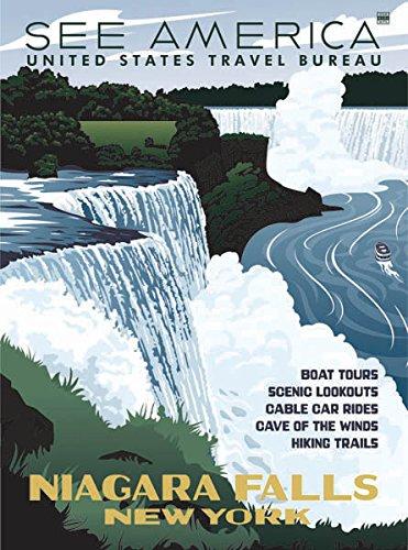 Niagara Falls WPA-Style - Falls Niagara Ford