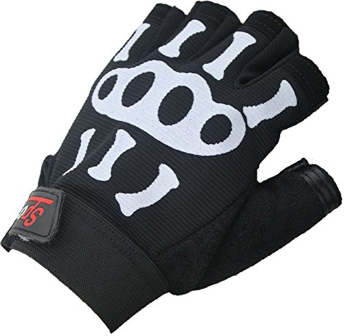 New Fashion Cycling Bike Bicycle Motorcycle Shockproof Outdoor Sports Half Finger Short Gloves Training, Fitness, Bodybuilding and Exercise Men & Women