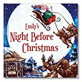 Personalized Twas' The Night Before Christmas Custom Name Keepsake Book for Children Toddler Boys Girls, Family Christmas Xmas Traditions